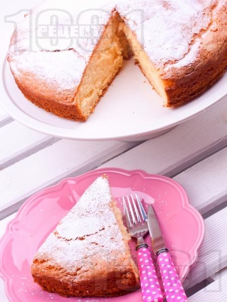 Маслен ванилов кекс с пудра захар - снимка на рецептата